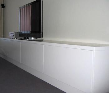 Karpi bilbao s l muebles de sal n carpinter a - Muebles de salon lacados en blanco ...